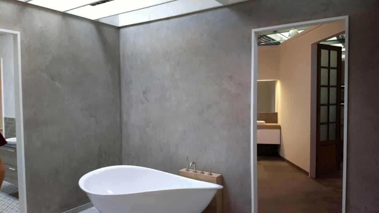 MicroCement badeværelse