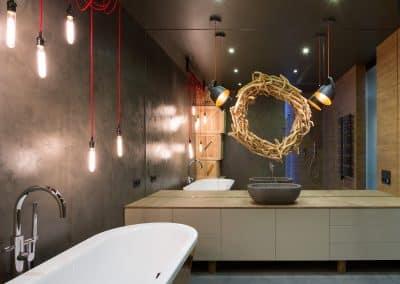 Badeværelse, Microcement