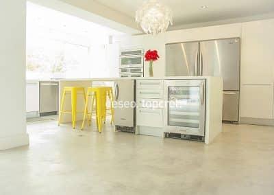 Køkken, Microcement