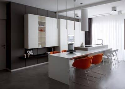 Køkken, Microcemento